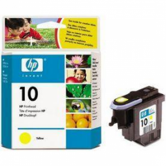 Original C4803A (HP 10) Ink Cartridge Printhead, Yellow