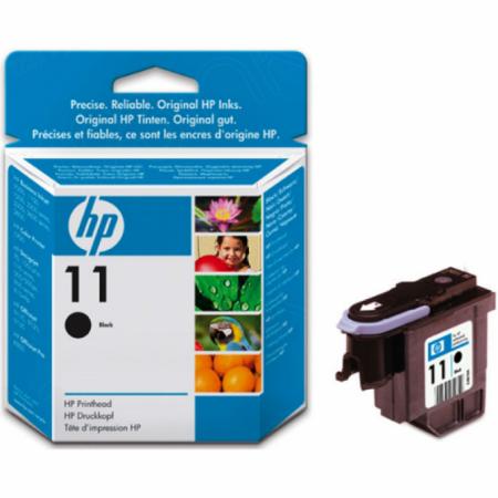 Original C4810A (HP 11) Ink Cartridge Printhead, Black