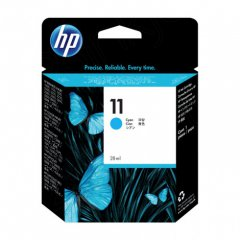 Original C4836A (HP 11) Ink Cartridges, High-Yield Cyan