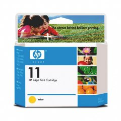 Original C4838A (HP 11) Ink Cartridges, High-Yield Yellow