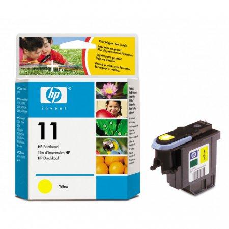Original C4813A (HP 11) Ink Cartridge Printhead, Yellow