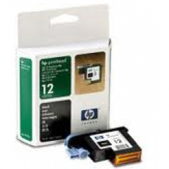 Original C5023A (HP 12) Ink Cartridge Printhead, Black