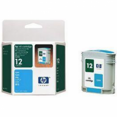 Original C4804A (HP 12) Ink Cartridges, Cyan