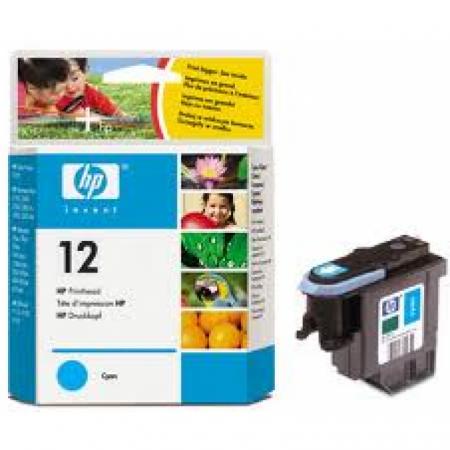 Original C5024A (HP 12) Ink Cartridge Printhead, Cyan