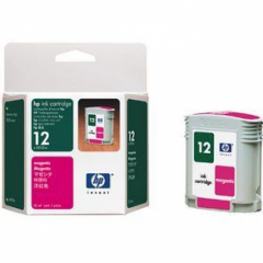 Original C4805A (HP 12) Ink Cartridges, Magenta