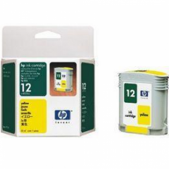 Original C4806A (HP 12) Ink Cartridges, Yellow
