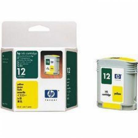 Original C4806A (HP 12) Ink Cartridges, Yellow