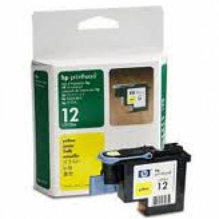 Original C5026A (HP 12) Ink Cartridge Printhead, Yellow
