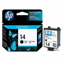 Original C5011DN (HP 14) Ink Cartridges, Black