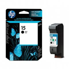 Original C6615DN (HP 15) Ink Cartridges, Black