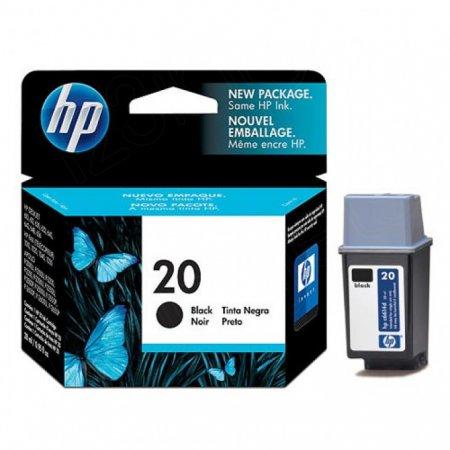 Original C6614DN (HP 20) Ink Cartridges, Black