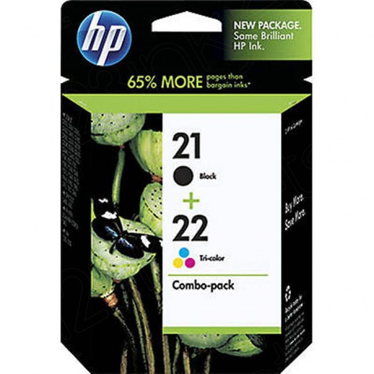 HP 21 / 22 Original Ink Pack