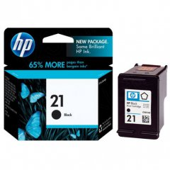 Original C9351AN (HP 21) Ink Cartridges, Black
