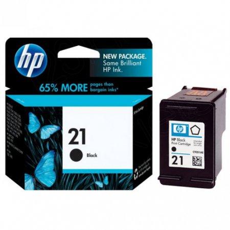Original C9351AN (HP 21) Ink Cartridges, Black