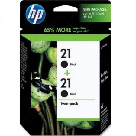 Original HP 21 Black Ink Pack