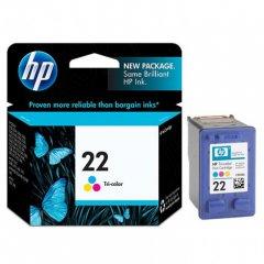 Original C9352AN (HP 22) Ink Cartridges, Tri-Color