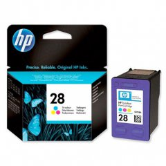 Original C8728AN (HP 28) Ink Cartridges, Color