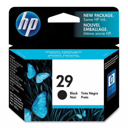 Original 51629A (HP 29) Ink Cartridges, Black