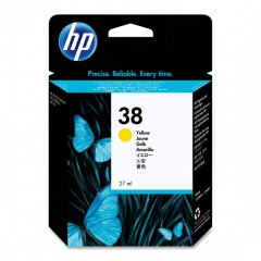 Original C9417A (HP 38) Ink Cartridges, Yellow