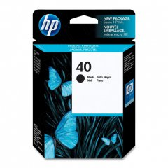 Original 51640A (HP 40) Ink Cartridges, Black