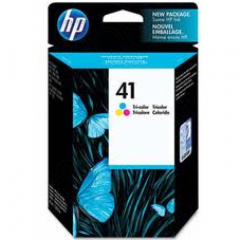 Original 51641A (HP 41) Ink Cartridges, Tri-Color