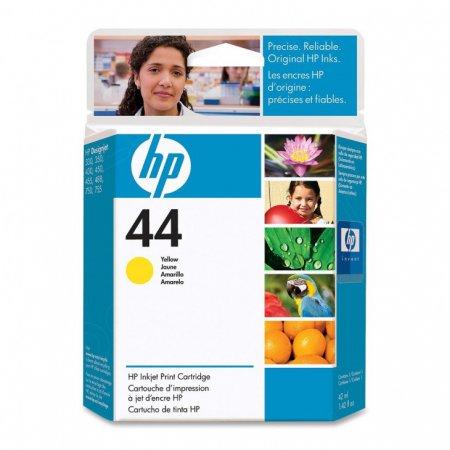 Original 51644Y (HP 44) Ink Cartridges, Yellow