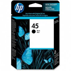 Original 51645A (HP 45) Ink Cartridges, Black
