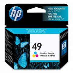 Original 51649A (HP 49) Ink Cartridges, Color