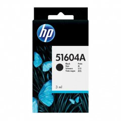 Original Hewlett Packard 51604A Ink Cartridge, Black