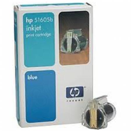 Original Hewlett Packard 51605B Ink Cartridge, Blue