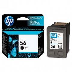 Original C6656AN (HP 56) Ink Cartridges, Black