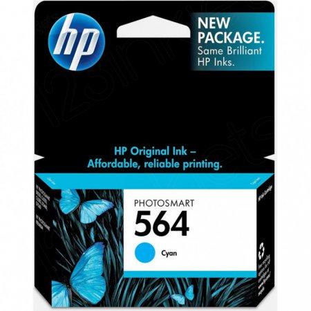 Original CB318WN (HP 564) Ink Cartridges, Cyan