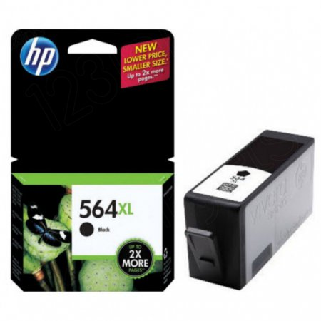 Original CN684WN (HP 564XL) Ink Cartridges, High-Yield Black