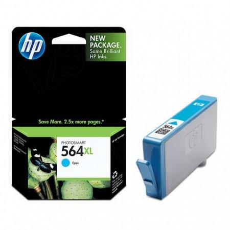 Original CB323WN (HP 564XL) Ink Cartridges, High-Yield Cyan