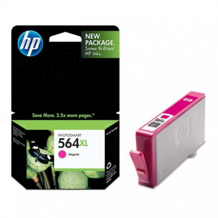 Original CB324WN (HP 564XL) Ink Cartridges, High-Yield Magenta