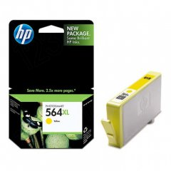 Original CB325WN (HP 564XL) Ink Cartridges, High-Yield Yellow