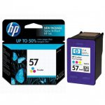 Original C6657AN (HP 57) Ink Cartridges, Color