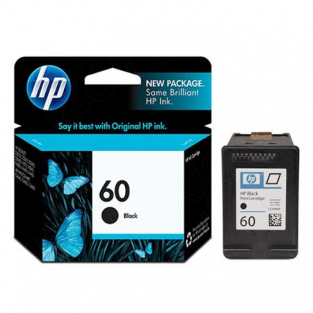 Original CC640WN (HP 60) Ink Cartridges, Black