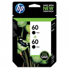 Original HP 60 Black Ink Pack