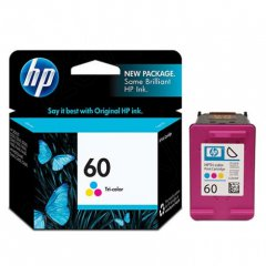 Original CC643WN (HP 60) Ink Cartridges, Tri-Color