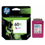 Original CC644WN (HP 60XL) Ink Cartridges, High-Yield Tri-Color