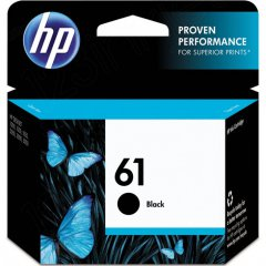 Original CH561WN (HP 61) Ink Cartridges, Black