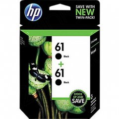 Original HP 61 Black Ink Pack