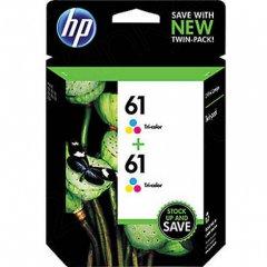 Original HP 61 Tri-color Ink Pack