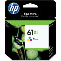 Original CH564WN (HP 61XL) Ink Cartridges, High-Yield Color