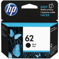 Original C2P04AN (HP 62) Ink Cartridges, Black