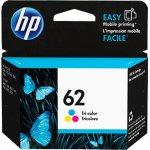 Original C2P06AN (HP 62) Ink Cartridges, Tri-Color
