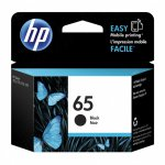 Original N9K02AN (HP 65) Ink Cartridges, Black