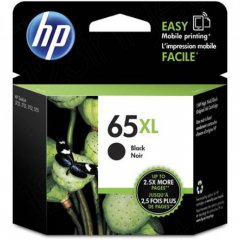 Original N9K04AN (HP 65XL) Ink Cartridges, High Yield Black