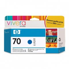 Original C9458A (HP 70) Ink Cartridges, Blue